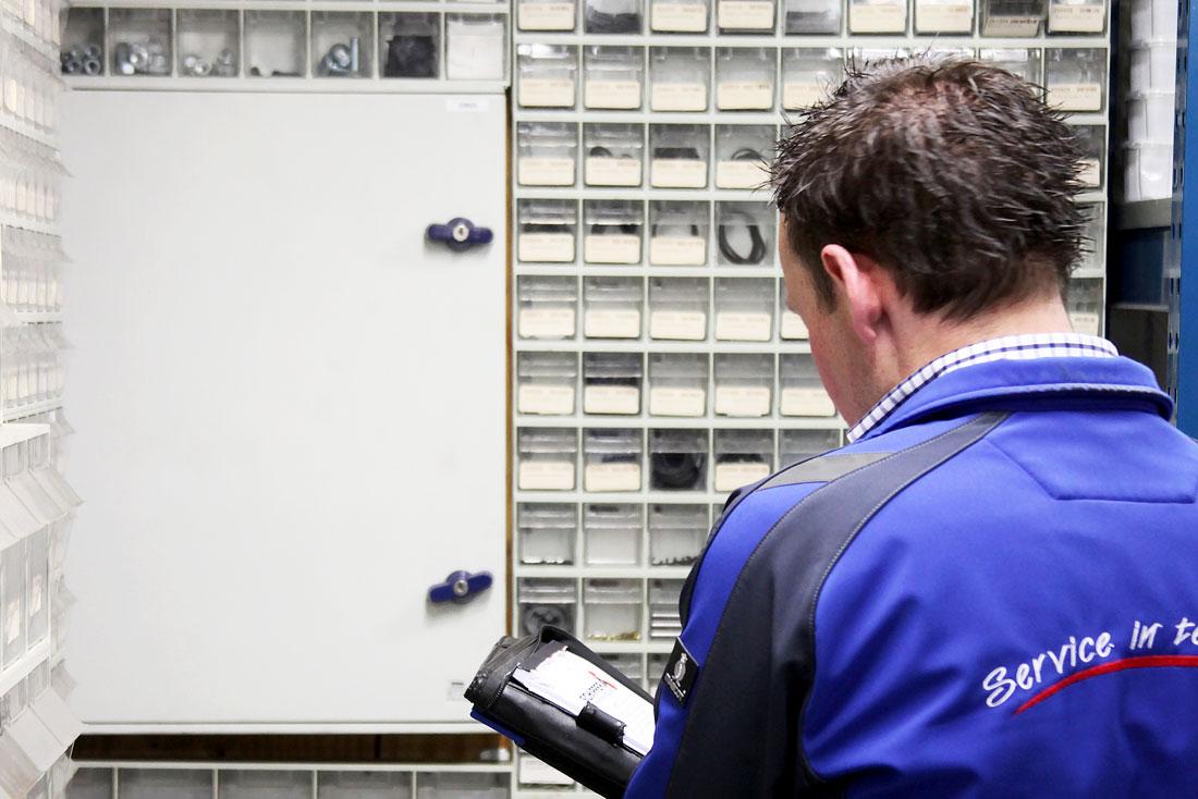 Uw magazijn kan worden ingericht en beheerd door medewerkers van Schipper