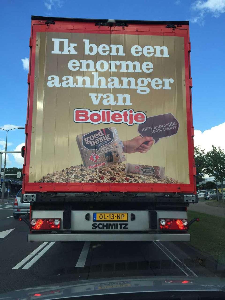 Bij Schipper zijn wij ook een enorme aanhanger van Bolletje!