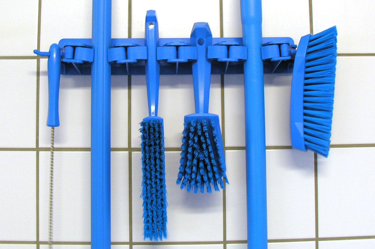 Vikan producten voor een blauwe zone. De producten van Vikan zijn in 10 kleuren leverbaar!