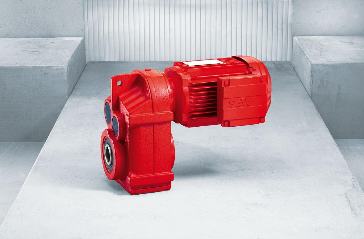 Een elektromotor is slechts een onderdeel van een aandrijving.