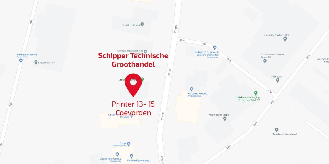 Afbeelding Schipper Technische Groothandel H.E.T. wordt Schipper: uitbreiding met nieuwe vestiging in Coevorden