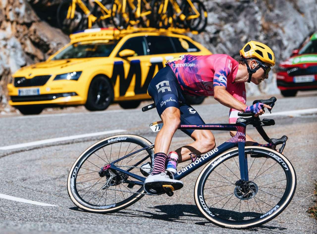 Cannondale tijdens de Tour de France in 2020