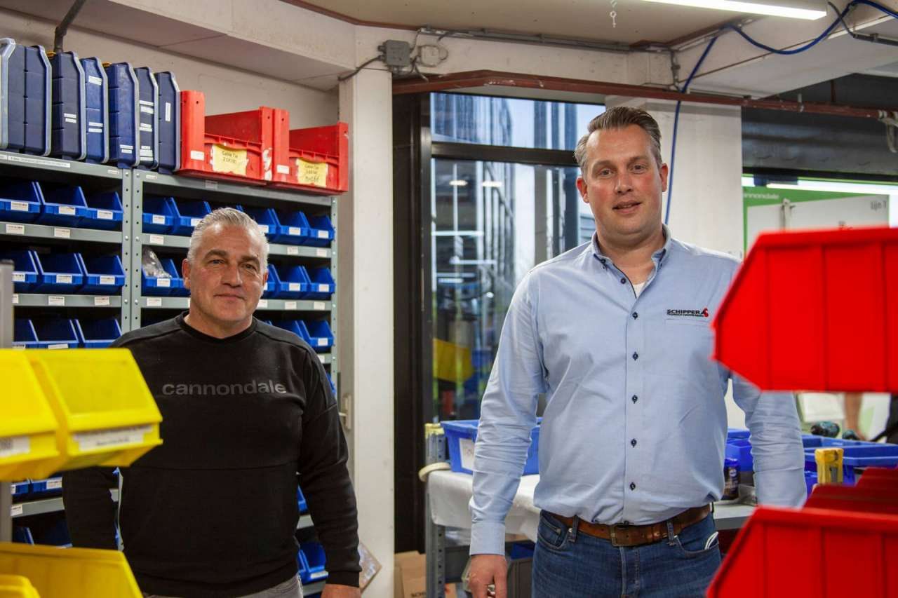 Rene Busscher samen met onze technisch accountmanager Edwin ter Braak